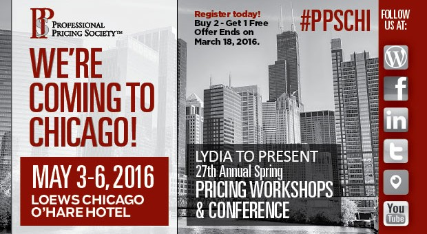 Di Liello presents 1 Day Workshop on CPQ Profit Optimization May 3rd